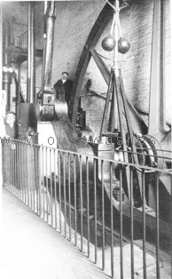 1830 beam engine c1913